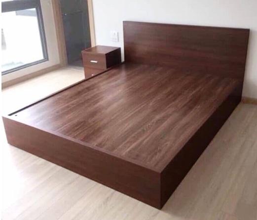 Giường ngủ công nghiệp MDF melamine 2100x1700x300