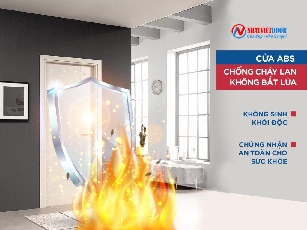 Cháy chậm và không cháy lan khi xảy ra hỏa hoạn