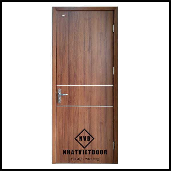 Cửa nhựa gỗ Composite mẫu 2N