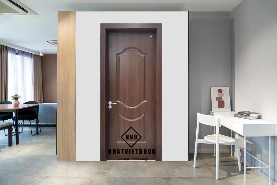 Mẫu cửa nhựa gỗ Composite 2A
