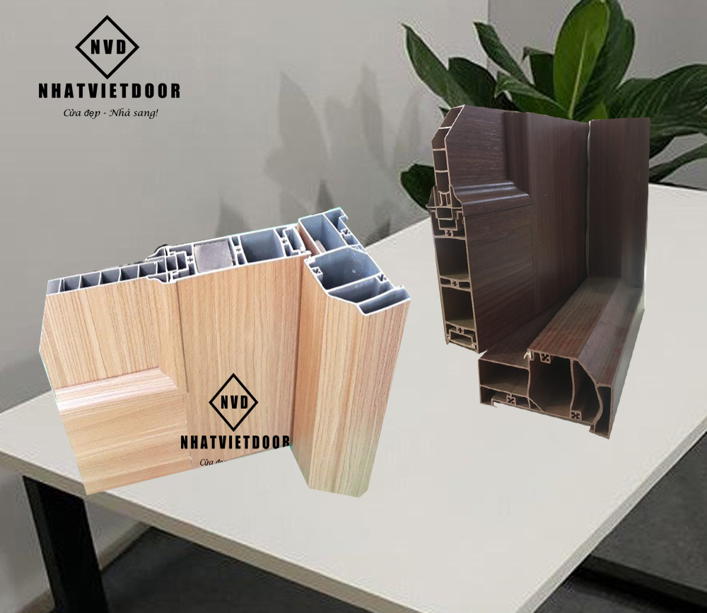 Kết cấu cửa nhựa Đài Loan cứng cáp sử dụng tốt cho WC