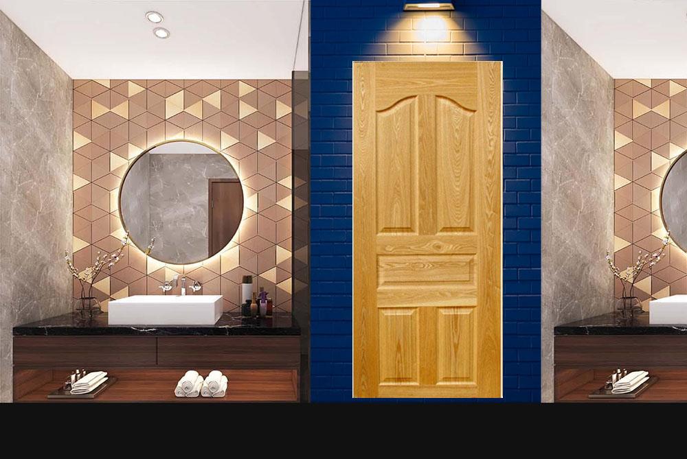 Mẫu cửa gỗ sồi tự nhiên 5A