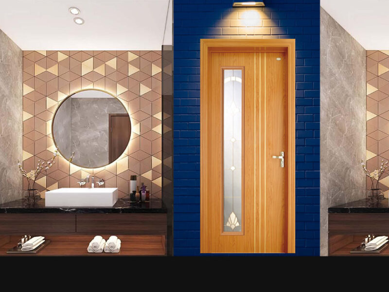 Top 10+ Mẫu cửa gỗ Sồi đẹp nhất 2021