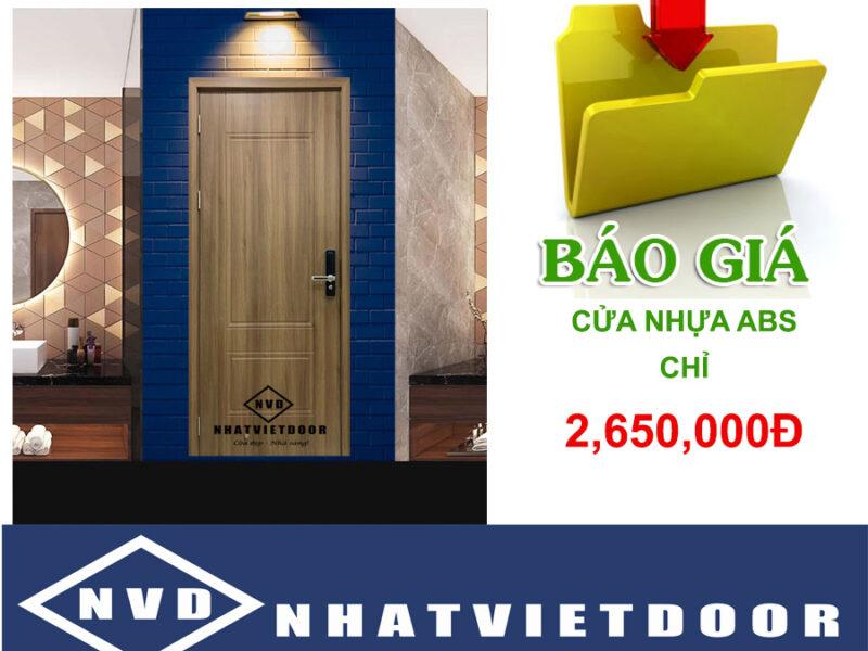 Cửa Nhựa ABS Hàn Quốc Tại Bắc Ninh – Bắc Giang