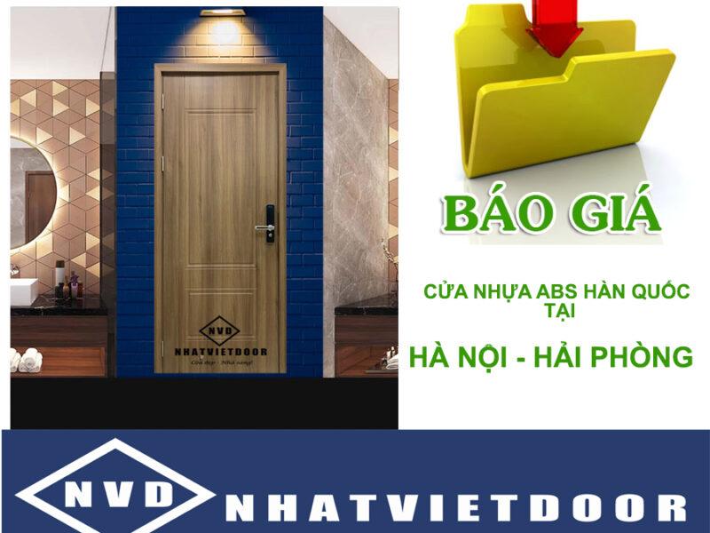 Cửa Nhựa ABS Hàn Quốc Tại Hà Nội – Hải Phòng