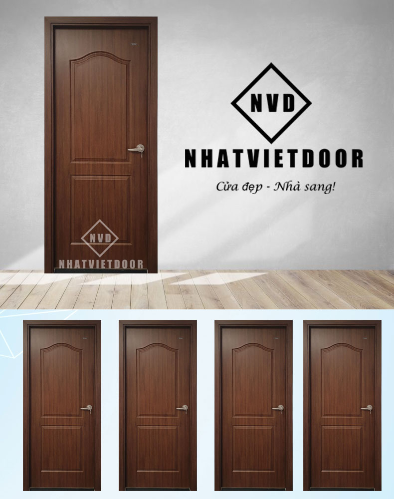 Mẫu cửa nhựa ABS rất giống cửa gỗ tự nhiên