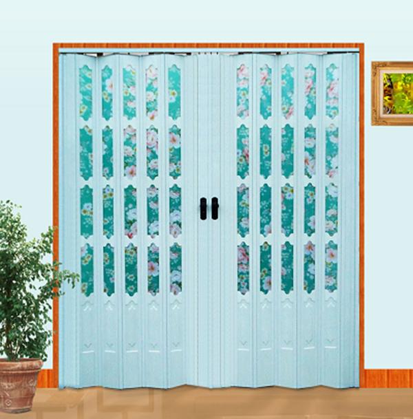 Mẫu cửa nhựa xếp giá rẻ đa dạng