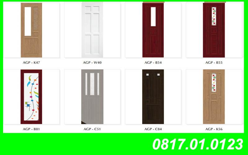 Mẫu cửa nhựa Đài Loan Y@Door